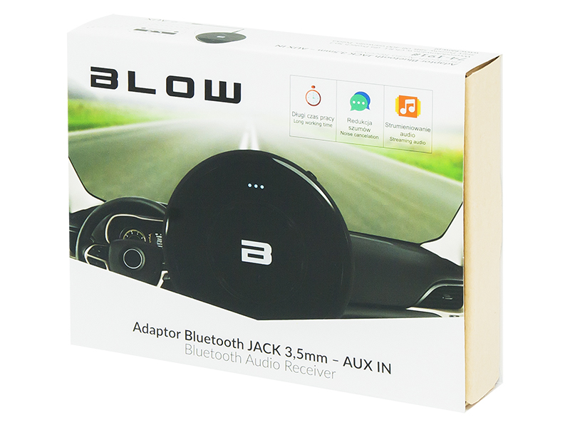ADAPTER BLUETOOTH JACK 3,5MM AUX IN