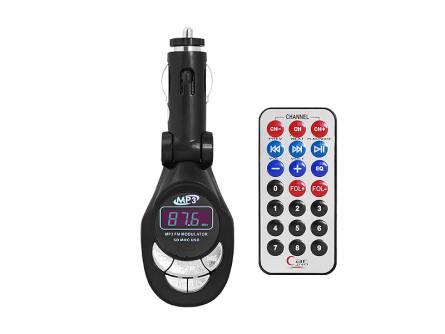 TRANSMITER FM SETTY USB,SD,AUX,PILOT