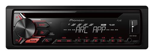 RADIO PIONEER DEH-1901 UB CD USB RED