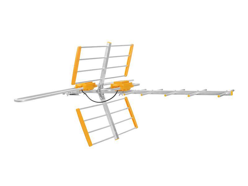 ANTENA TV DVB-T COMBO UHF+VHF ax GALAXY MUX-8