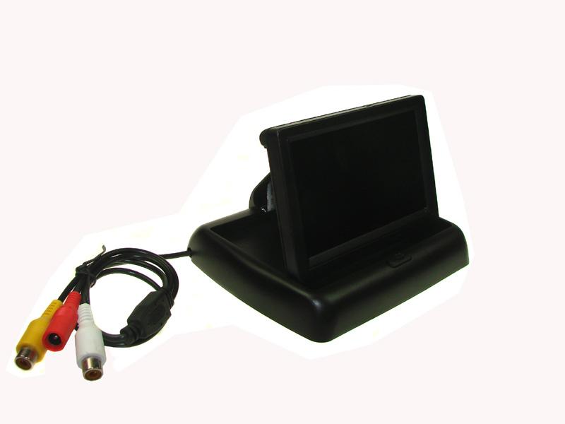 MONITOR LCD 4,3 4:3 FLIP DISPLAY
