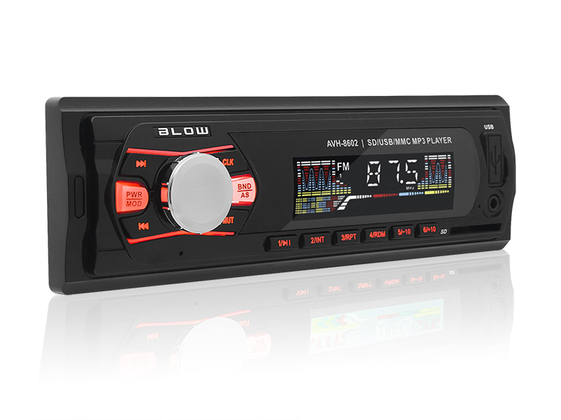 RADIO BLOW AVH-8602 MP3/USB/SD/MMC/AUX-zdj0
