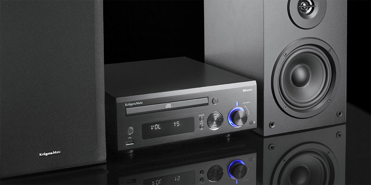 WIEŻA KRUGER&MATZ Z CD,USB,BLUETOOTH I FM KM1534